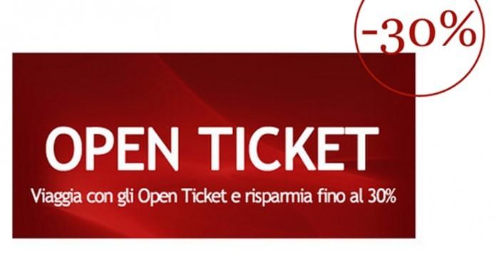 open ticket Italo Treno ntv